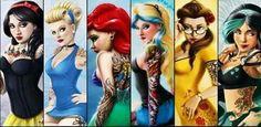 The hottest Punk Rock, Metal, Goth & Emo Disney Rebel Characters you will ever see 2013 Emo Disney, Disney Pixar, Walt Disney, Disney Girls, Disney And Dreamworks, Disney Love, Disney Art, Hipster Disney, Hipster Ariel