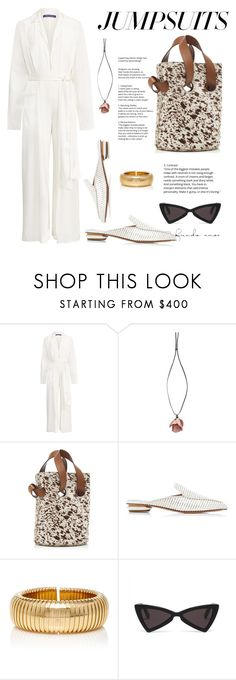 """Jumpsuit"" by giotibi ❤ liked on Polyvore featuring Ralph Lauren, Marni, Nicholas Kirkwood, Sidney Garber and jumpsuits"