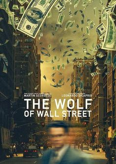 Alternative movie poster for The Wolf Of Wall Street, made by Elliot Cardona Best Movie Posters, Cinema Posters, George Clooney, Bon Film, Wolf Of Wall Street, Street Art, Movies Worth Watching, Alternative Movie Posters, Poster S