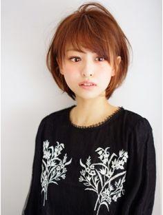 アフロートジャパン(AFLOAT JAPAN) ATLOAT『菅谷』顔周りを包み込む小顔ショートボブ