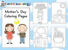 FREE Mothers Day Coloring