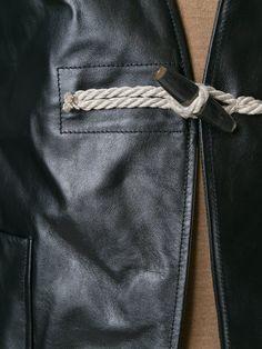 Maison Margiela toggle front jacket
