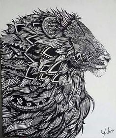 Le roi lion... ...