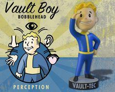 Great sale information Online Fallout Vault Tec Pip Boy Perception Bobblehead Figure Toy - Fallout, Pip Boy, Vault Tec, Head Shop, Bobble Head, Perception, Plushies, Action Figures, Statue