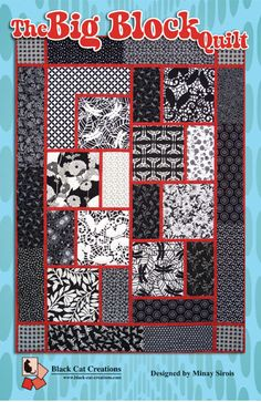 Quilt Patterns With Large Prints Was Given Some Large