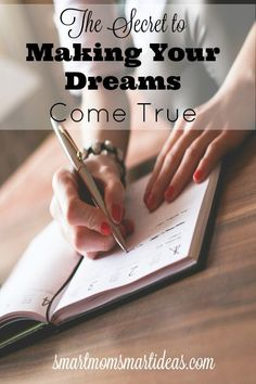 Do you know the secret to making your dreams come true? Find out the one word changes that everything.