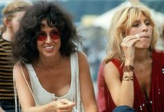 Woodstock 1969: round, red/orange colored lens sunglasses
