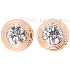 カルティエ ピアス ディアマン レジェ イヤリング XS ダイヤモンド 計0.08ct K18PGピンクゴールド B8301214 Cartier ジュエリー ダイアモンド