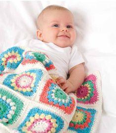 Baby Blankets in Rico Baby Cotton Soft DK - 246 - Digital Version 643250077