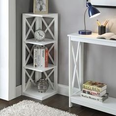 Lowe's Home Improvement 3 Shelf Bookcase, Living Room Shelves, Oxford White, Lowes Home Improvements, Wood Furniture, Nightstand, Bedroom, Table, Interiors