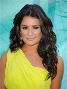 Lea Michele Hairstyle 100%Brazilian Hair Weft about 20inches Wave Item # W6872  Original Price: $310.00 Latest Price: $106.09