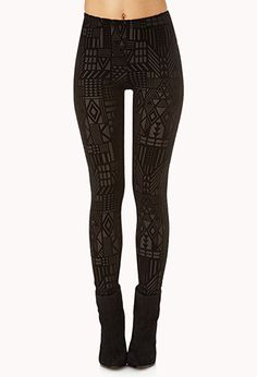 I really like these. Nice alternative to tribal leggings for girls like me who just can't pull that look off :)