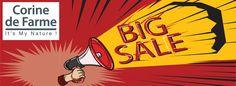 Увага! Увага! Увага! Тотальний розпродаж косметики французького бренду Corine de Farme розпочато!  Дитяча серія - від 29,99 грн, косметика для догляду за обличчям - від 59,99грн, косметика для немовлят - від 55 грн!  Кількість товару обмежена, тож не зволікайте!  http://eshoping.ua/uk/the_total_sale_tm_corine_de_farme.html  #eshoping #sale #CorineDeFarme #розпродаж