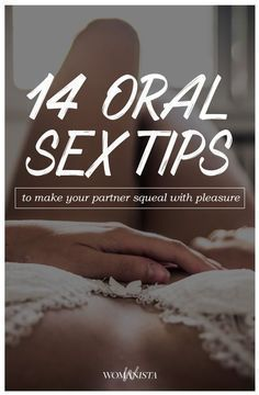 Oral Pleasure Tips