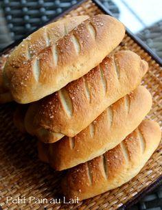 Petit Pain au Lait / French Milk Bread