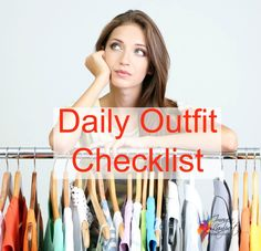 Daily outfit checklist - Inside Out Style Blog