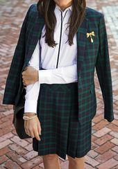 Black Watch and brick walks Prep Style, My Style, Goth Style, Tartan Fashion, Fall Lookbook, Classy Girl, Girls Wear, Goth Girls, College Outfits