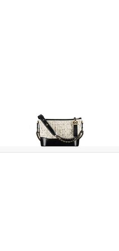 CHANEL's GABRIELLE small hobo bag, embroidered tweed, calfskin, silver-tone & gold-tone metal-orange - CHANEL