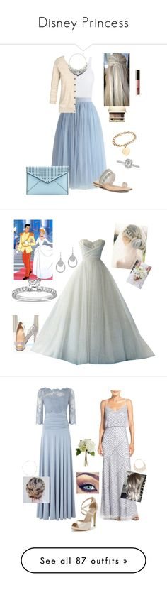 """""""Disney Princess"""" by kmmurphy ❤ liked on Polyvore featuring Vince, Chicwish, Fat Face, Spring Step, Clarins, LORAC, Swarovski, Ross-Simons, Mark Broumand and Rebecca Minkoff"""