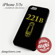 Sherlock 221 B (2) Phone case for iPhone 4/4s/5/5c/5s/6/6s/6 plus