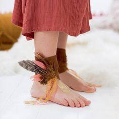 Disfraces infantiles DIY para indios salvajes - Inspiración Marie claire