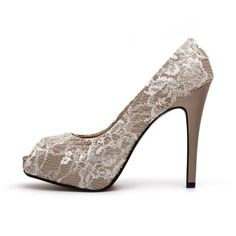Champagne Coloured Wedding Shoes
