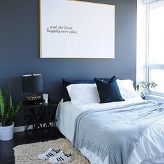 This is a Bedroom Interior Design Ideas. House is a private bedroom and is usually hidden from our guests. However, it is important to her, not only for comfort but also style. Much of our bedroom … Blue Bedroom, Modern Bedroom, Bedroom Decor, Bedroom Furniture, Bedroom Ideas, Master Bedroom, Bedroom Designs, Room Interior Design, Luxury Interior