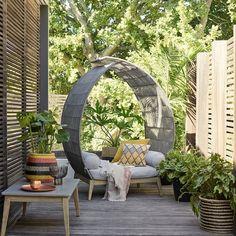 Leia outdoor alcove seat at John Lewis (johnlewis.com)