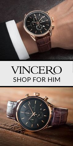 Vincero watches are the perfect mix of elegance, quality, and affordability. With Free Shipping WorldWide, it's tough to find reasons why you shouldn't…Shop Today!
