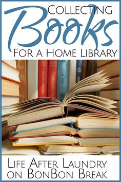 Simple tips on how to collect affordable books for your home library.