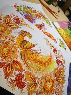 Peacock, Folk Art, Rainbow, Passion, Painting, Shop Signs, Rain Bow, Rainbows, Popular Art