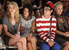 Where's Waldo Movie: Apocalypto Easter Egg Turned Feature Film? Easy Homemade Halloween Costumes, Jessica Stam, Wheres Waldo, Celebrity Beauty, Feature Film, Front Row, Christmas Sweaters, Latest Trends, Fashion Show