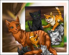 Warriors: when we were young by Marshcold.deviantart.com on @DeviantArt