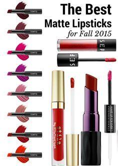 The Best Matte Lipsticks for Fall 2015