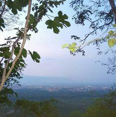 Vista de la cumbre en colima
