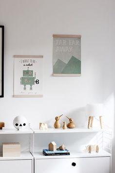 Bird Family by Kristian Vedel Home Decor Styles, Diy Home Decor, Room Decor, Interior Design Inspiration, Home Interior Design, Kids Zone, Kid Spaces, Kids Decor, Kids Bedroom