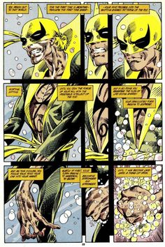 The son of K'un L'un is back with a new series and a new appreciation thread! Comic Book Characters, Marvel Characters, Comic Character, Comic Books Art, Comic Art, Book Art, Iron Fist Marvel, Misty Knight, Fantasy Comics
