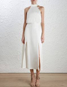 Sueded Picnic Dress by Zimmermann