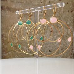 bo Larmes - I would really love some gold hoops in my next fix