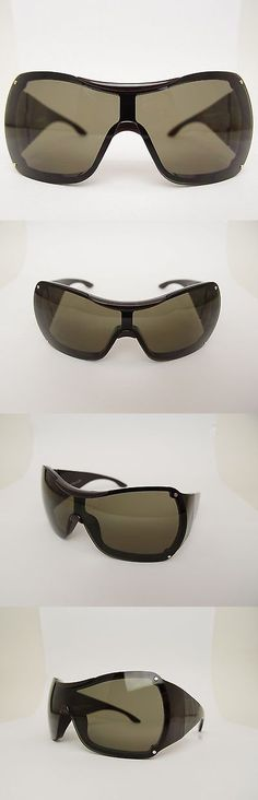 Sunglasses 131411: Christian Dior Baby Shine Oversized Shield Kids Designer Sunglasses Italy Made -> BUY IT NOW ONLY: $99.99 on eBay!