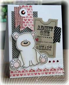 TCP Tuesday 219: Stamp/CutUps Challenge card by jen del muro