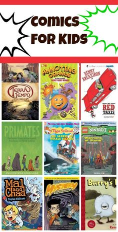 stock up for summer reading -- new graphic novels for kids