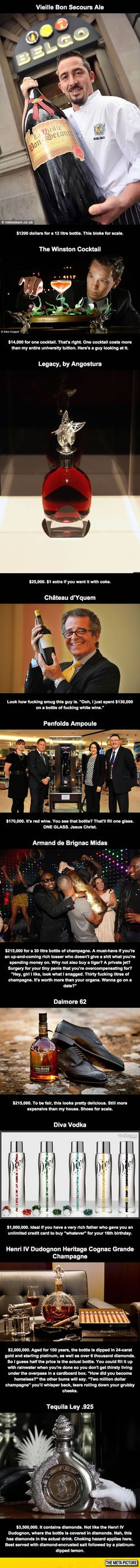 Funny pictures about The World's Most Expensive Alcohol. Oh, and cool pics about The World's Most Expensive Alcohol. Also, The World's Most Expensive Alcohol photos. Funny Images, Best Funny Pictures, Cool Pictures, Funny Pics, Funny Stuff, Random Pictures, Random Stuff, Hilarious, Cocktails