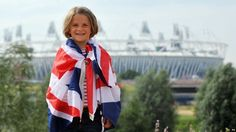 Ines Wiggin, aged six, from London at the Olympic Park