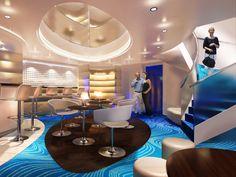 NCL Breakaway cruiseship Solo Lounge