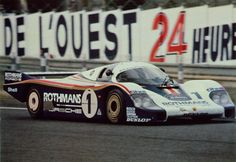 1982 Le Mans 24 hour race winning Porsche 956.
