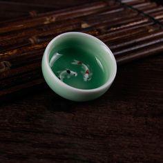 Lonqquan Celadon Tea Cups