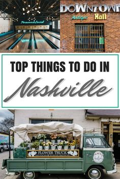 Welcome to Music City, where country music thrives and live music plays nearly every night. But there is more to Nashville than just the honky-tonks. Check out these top things to do in Nashville!