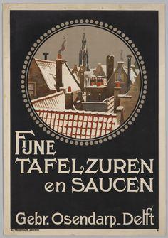 Fijne tafelzuren en saucen. Gebr. Osendarp - Delft