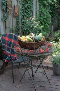Autumn fall decor pumpkin Kom Achterom: tuin